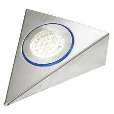 Halo Trilight Under Cabinet Light in Brushed Nickel