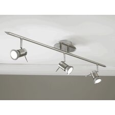 Genoa Linear Head 3 Light Ceiling Spotlight
