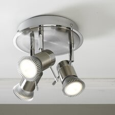 Genoa Head 3 Light Ceiling Spotlight