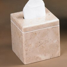 Caramel Marble Tissue Box Holder