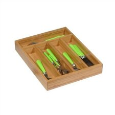 <strong>Creative Home</strong> Bamboo Cutlery Tray