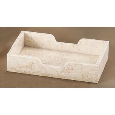 Champagne Marble Guest Towel Tray (Set of 2)
