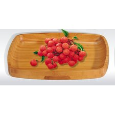 Bamboo Rectangular Serving Tray