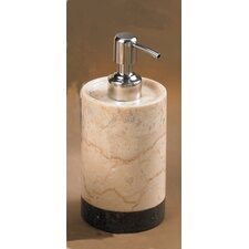 Champagne Marble Inverary Banded Liquid Soap Dispenser