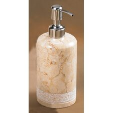 Champagne Marble Spa Hand Carved Liquid Soap Dispenser
