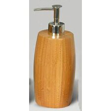 Bamboo Barrel Liquid Soap Dispenser