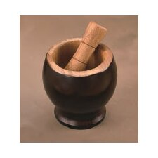 <strong>Creative Home</strong> Bamboo Mortar and Pestle