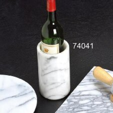 "<strong>Creative Home</strong> White Marble 6"" Wine Cooler"
