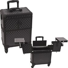 Professional Rolling Cosmetic Makeup Train Case