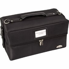 Soft-Sided 2-Tiered Accordion Professional Makeup Case
