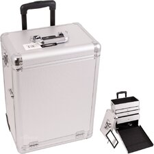 Interchangeable Professional Rolling Cosmetic Makeup Case