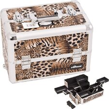 Interchangeable Professional Cosmetic Makeup Train Case