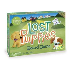 <strong>Peaceable Kingdom</strong> Lost Puppies Board Game
