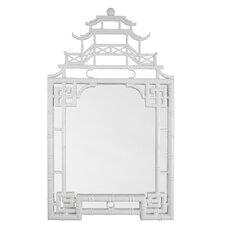 Lacquer Pagoda Mirror