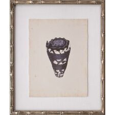 Mini Diderot Shell I Framed Graphic Art