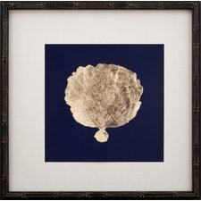 Gold Leaf Coral II Framed Graphic Art