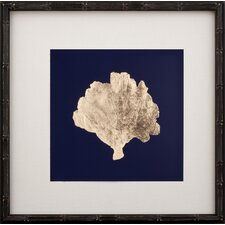 Gold Leaf Coral III Art