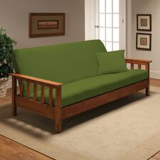 Stretch Jersey Full Futon Cover in Lime