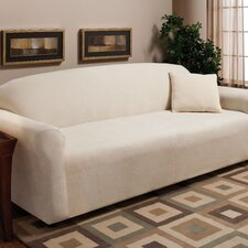 Stretch Microfleece Sofa Slipcover