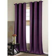 New London Rod Pocket Curtain Panel (Set of 2)