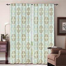 Ikat Rod Pocket Curtain Panel (Set of 2)