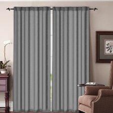 Soho Rod Pocket Curtain Panel (Set of 2)