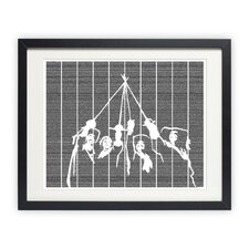 The Three Musketeers Framed Graphic Art