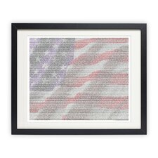 <strong>Postertext</strong> The Constitution of the United States of America Art Print