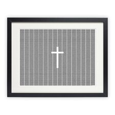 The Holy Bible: New Testament Framed Graphic Art