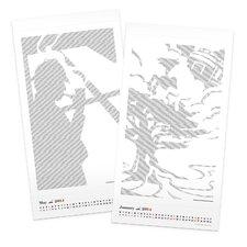 2014 Literary Poster Calendar (Twelve Short Story Art Prints)