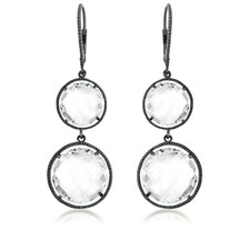 Rock Candy Radiant Double Round Drop Earrings
