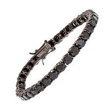 Cubic Zirconia Diamond Tennis Bracelet