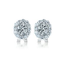 Celebrity Inspired Cubic Zirconia Stud Earrings