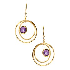 Brazilian Circle Earrings
