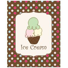 <strong>Secretly Designed</strong> Sweet Ice Cream Art Print