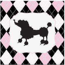 <strong>Secretly Designed</strong> Princess Poodle Art Print