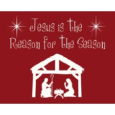 Jesus is the Reason Art Print