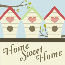 <strong>Secretly Designed</strong> Home Sweet Home Wall Art Print