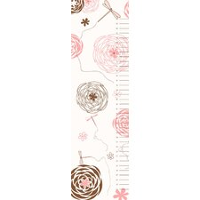 Dragonflies and Flowers Growth Chart