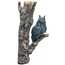 H2ShOw Magic World Owl Resin Ornament