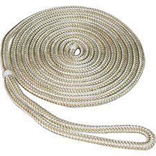"0.375"" x 15' Double Braid Nylon Dockline"