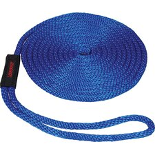 "0.375"" x 15' Solid Braid MFP Dockline in Blue"