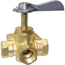 3 Way Female Shut-Off Valve