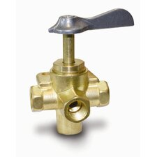 4 Way Female Shut-Off Valve