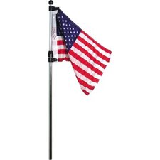 Telescoping Flag Pole with U.S. Flag