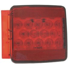 Left Square LED Tail Light