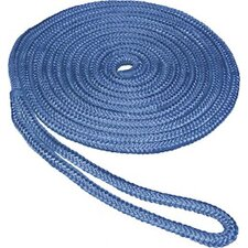 "<strong>Unified Marine</strong> 0.625"" x 25' Double Braid Nylon Dockline in Blue"