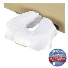 Disposable Face Pillow Covers Package in Natural White (Pack of 100)