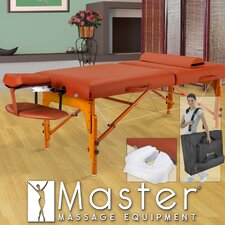 "31"" Santana LX Massage Table in Mountain Red"