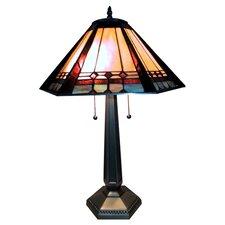 "Mission 28"" H Elegant Table Lamp"
